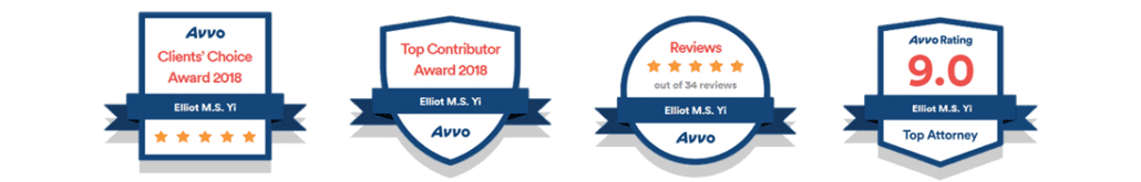 AVVO badges Recommended Immigration Attorney in Portland